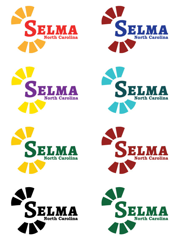 Selma Logo using rays