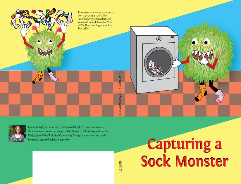 Sock Monster throwing socks