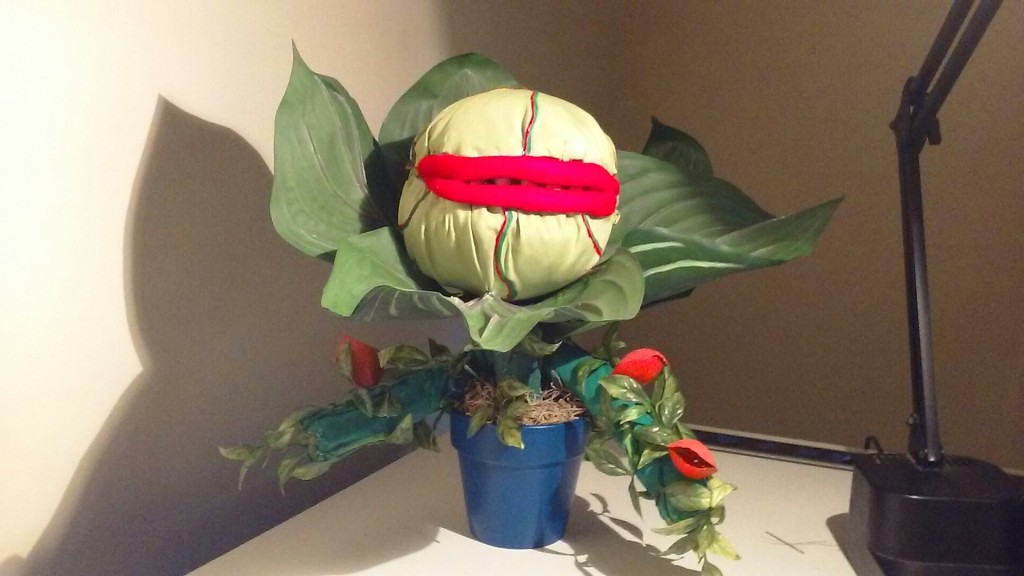 Audrey II with vine arms