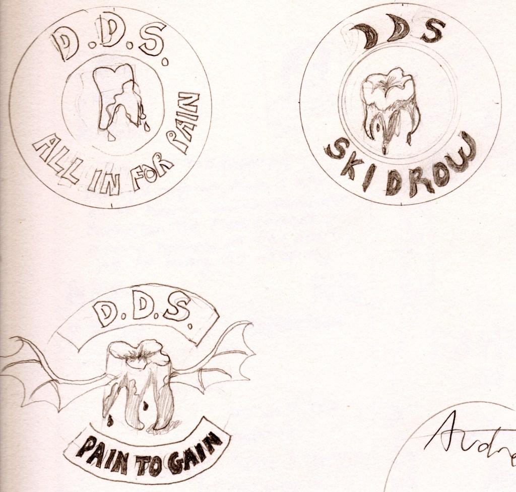 DDS Sticker