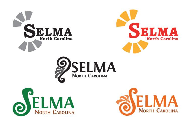 Selma logo comps