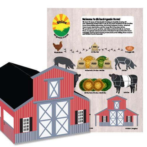 Shine Organic Farms Infographic Barn